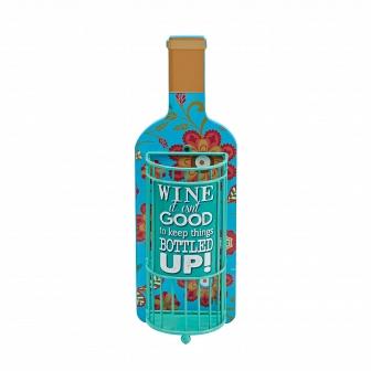 Декоративная емкость для винных пробок/мелочей Boston Warehouse Kitchen Bottled Up 20834