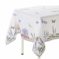 Скатерть Blonder Home Lavender 140x140 см