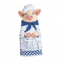 Кухонная прихватка Boston Warehouse Kitchen Chef Pig