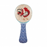 Подставка для ложки Boston Warehouse Kitchen Damask Rooster