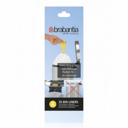 Пакет пластиковый Brabantia Bin Liners 3л 20шт 311727