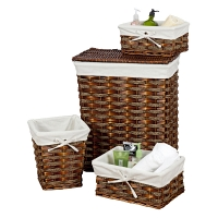 Набор корзин Creative Bath Storage Set 4 предмета Windsor Hamper Brown