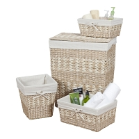 Набор корзин Creative Bath Storage Set 4 предмета Arcadia Hamper White