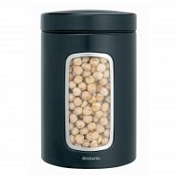 Контейнер для сыпучих продуктов с окном Brabantia Canister 1,4л