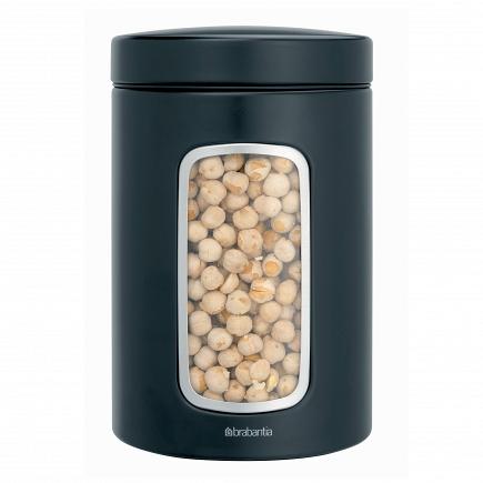 Контейнер для сыпучих продуктов с окном Brabantia Canister 1,4л 333521