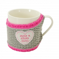 Кружка Boston Warehouse Kitchen Sweater mug Mugs & Kisses