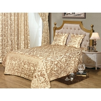 Комплект с покрывалом 3 пр. Asabella Curtains and Bedspreads 240x260