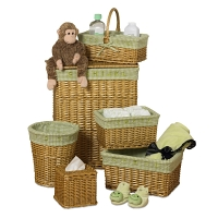 Набор корзин Creative Bath Baby's Learn & Store Collection 6 предметов Brown