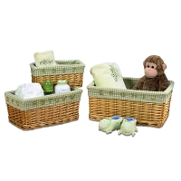 Набор корзин Creative Bath Baby's Learn & Store Collection 3 предмета Brown