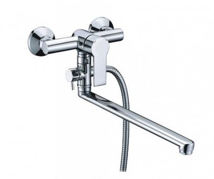 Смеситель для ванны WasserKRAFT Ammer с длинным изливом 3702L