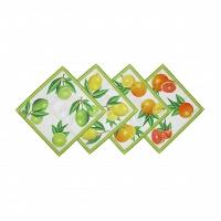 Комплект из 4-х салфеток Blonder Home Citrus 40x40 см
