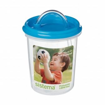 Детская чашка с трубочкой Sistema Hydrate 250мл 40