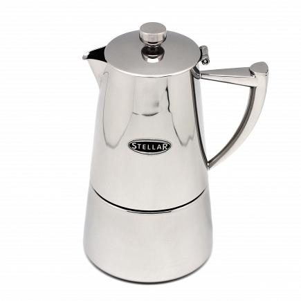 Кофеварка эспрессо Silampos Art Deco на 6 чаш. 41281318SC63