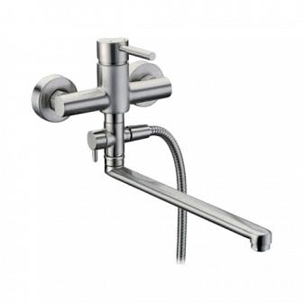 Смеситель для ванны WasserKRAFT Wern с длинным изливом 4202L