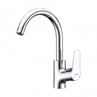 Смеситель для кухни WasserKRAFT Lippe с поворотным изливом 4507