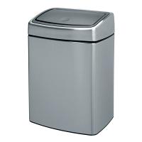 Ведро для мусора Brabantia Touch Bin прямоугольное 10л