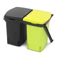 Ведро для мусора двухсекционное  встраиваемое Brabantia Built-In Bin 1х10л