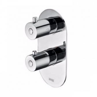 Термостатический смеситель для ванны и душа WasserKRAFT Berkel 4833