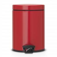 Ведро для мусора с педалью Brabantia Passion Red 5 литров