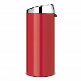 Мусорный бак TOUCH BIN Brabantia Passion Red 30 литров 483844