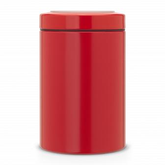 Контейнер с прозрачной крышкой Brabantia Passion Red 1,4л 484049
