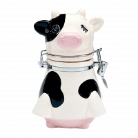 Банка для сыпучих продуктов Boston Warehouse Kitchen Udderly Cows