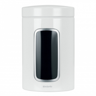 Контейнер для сыпучих продуктов с окном Brabantia Canister 1,4л 491009
