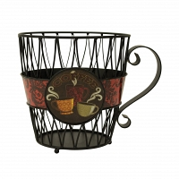 Корзина для кофейных капсул Boston Warehouse Kitchen Laminate Kupkeeper