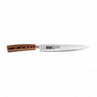 Нож разделочный Mikadzo Damascus Suminagashi
