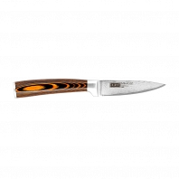 Нож овощной Mikadzo Damascus Suminagashi