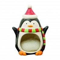 Держатель для губок/мочалок Boston Warehouse Kitchen Merry Penguin