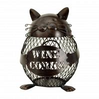 Декоративная емкость для винных пробок/мелочей Boston Warehouse Kitchen Cat