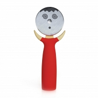 Нож для пиццы Boston Warehouse Kitchen Pizza Cutter Pepper Green
