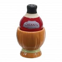 Набор солонка и перечница Boston Warehouse Kitchen Wine & Cheese Chianti