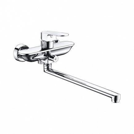 Смеситель для ванны WasserKRAFT Dinkel с длинным изливом 5802L