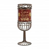 Декоративная емкость для винных пробок/мелочей Boston Warehouse Kitchen Life is Short