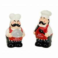 Набор солонка и перечница Boston Warehouse Kitchen Chef