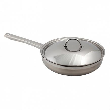Сковорода с крышкой Silampos Europa 24см 632122BM5124A