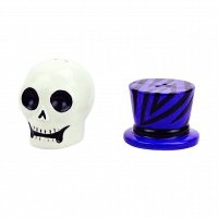Набор солонка и перечница Boston Warehouse Kitchen Witch Doctor Skull