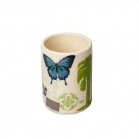 Стакан для зубной пасты Croscill Living Butterfly Palm