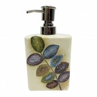 Дозатор для жидкого мыла Croscill Mosaic Leaves