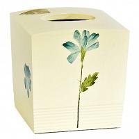 Бокс для салфеток (салфетница) Croscill Living Spa Leaf