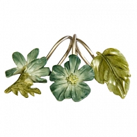 Набор из 12 крючков для шторки Croscill Living Spa Leaf
