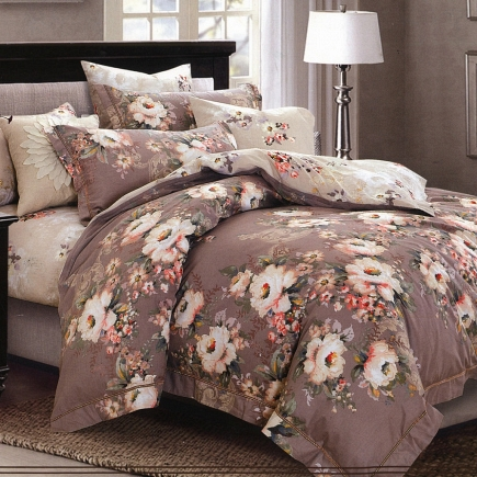 Лаура КПБ сатин 7Е Sofi de Marko Bedding Sets 7Е-1019