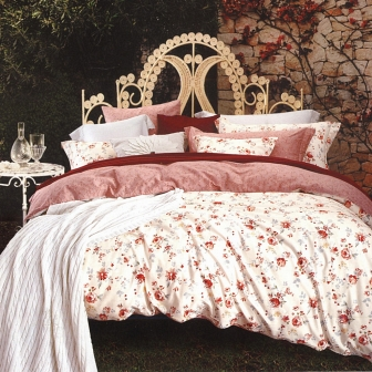 Августа КПБ сатин 7Е Sofi de Marko Bedding Sets 7Е-1335