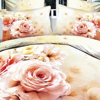 Анастасья КПБ сатин 7Е Sofi de Marko Bedding Sets 7Е-1498