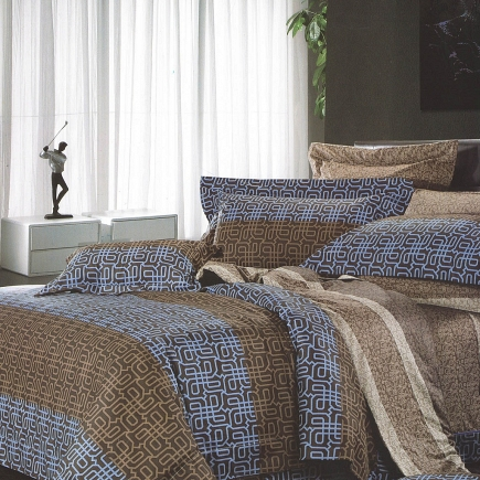 Кэлвен КПБ сатин 7Е Sofi de Marko Bedding Sets 7Е-1847