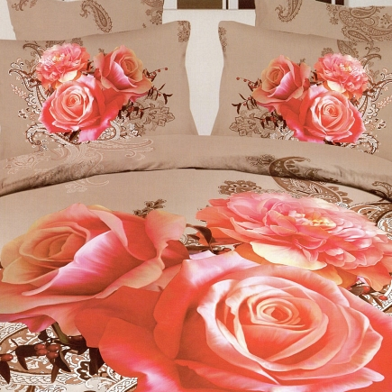 Забава КПБ сатин 7Е Sofi de Marko Bedding Sets 7Е-2194