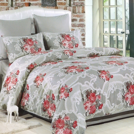 Дора КПБ сатин 7Е Sofi de Marko Bedding Sets 7Е-2260