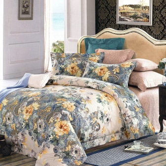Астрид КПБ сатин 7Е Sofi de Marko Bedding Sets 7Е-2299